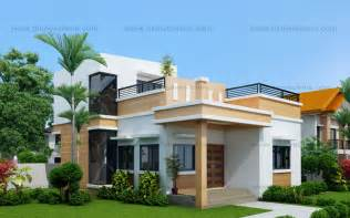 simple modern residence design placement maryanne one storey with roof deck shd 2015025