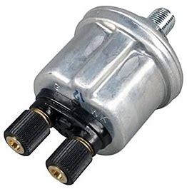 Vdo Psi Oil Pressure Sending Unit Dual Pole