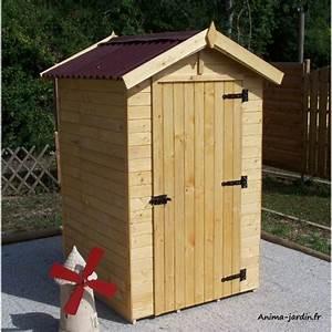 Abri de jardin bois, 2m² extérieur, petite taille, cabine plage, achat/vente