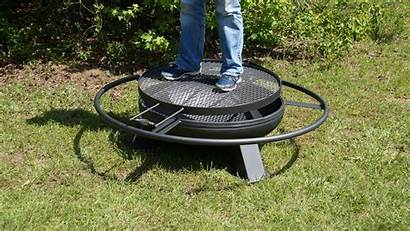 Heavy Duty Metal Grill Fire Pits Steel
