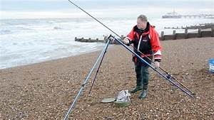 Shore Fishing Off The South Coast Eastbourne UK - YouTube