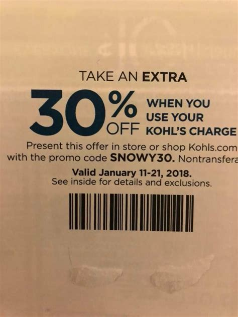 24475 Kohls May Coupons by 49 Best Kohls 30 Coupon Code Images On