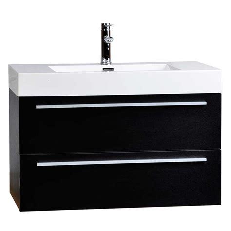 wall mount vanity wall mount contemporary bathroom vanity black tn t1000 bk