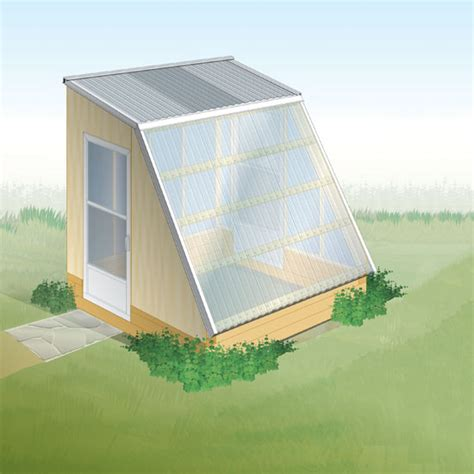 small green home plans small greenhouse plans for winter growing diy mother earth news