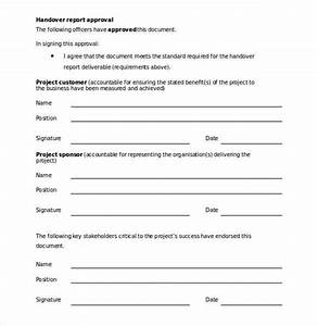26 handover report templates pdf doc free premium With handover certificate template