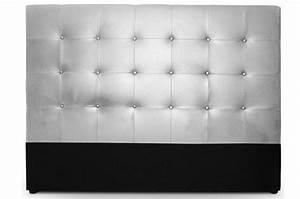 Tete Lit Capitonnée : t te de lit capitonn e 180 cm cocoon argent t tes de lit ~ Premium-room.com Idées de Décoration