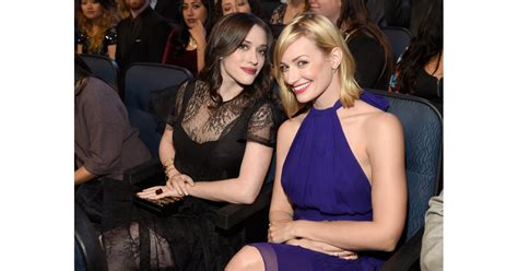 Broke Girls Stars Kat Dennings Beth Behrs Buddied
