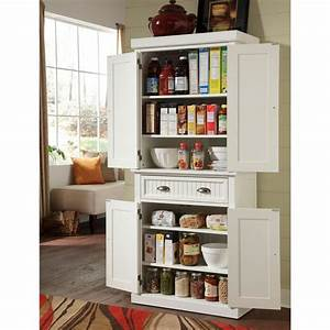 home styles nantucket pantry in distressed white 5022 69 With kitchen colors with white cabinets with christmas gift tag stickers