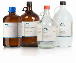 macron fine chemicals With chemical bottle labels