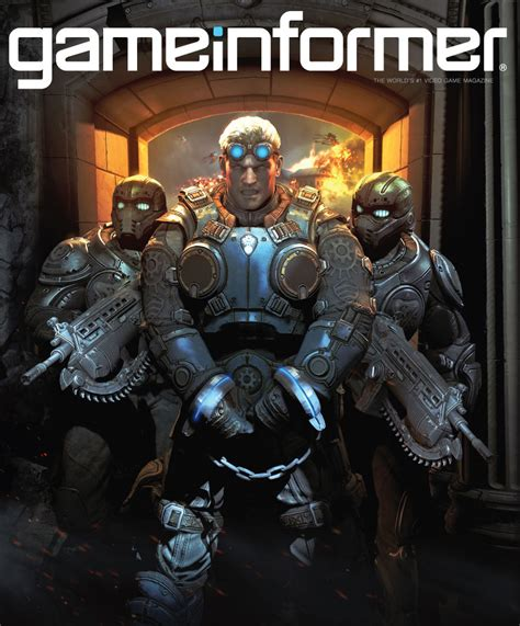 July Cover Revealed Gears Of War Judgment Game Informer