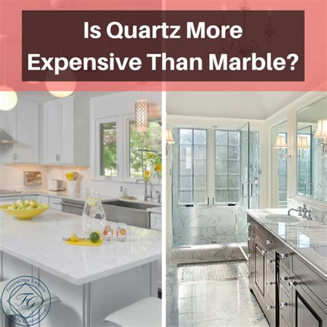 is quartz more expensive than marble flemington granite