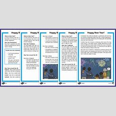 Ks1 New Year Differentiated Reading Comprehension Activity  Ks12 New Year