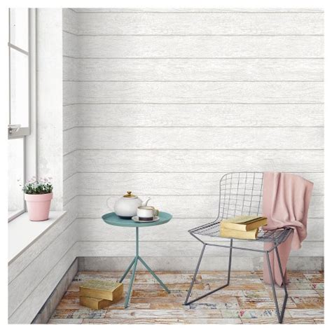 devine color textured shiplap peel stick wallpaper