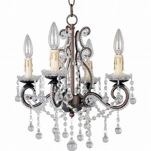 Maxim lighting katherine light oil rubbed bronze mini chandelier oi the home depot