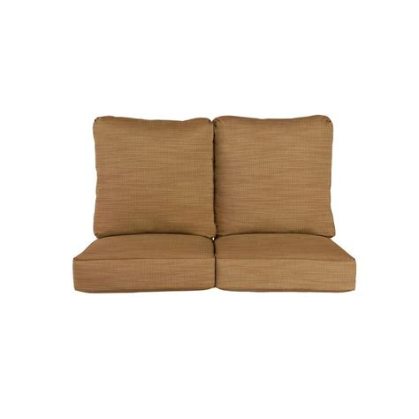 Loveseat Replacement Cushions by Brown Vineyard Replacement Outdoor Loveseat Cushion