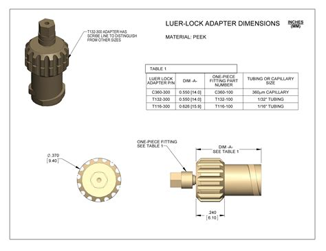 LuerLock Adapter Assembly LabSmith