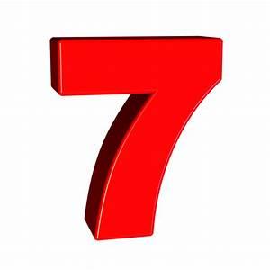 Free Illustration Seven Number 7 Digit Font Free