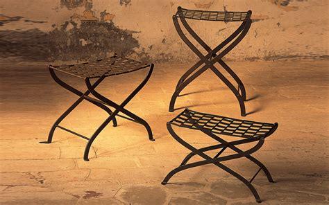 sgabelli in ferro sedute ferro