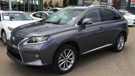 lexus rx  awd grey  saddle tan touring