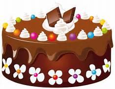 Chocolate cake clipart...