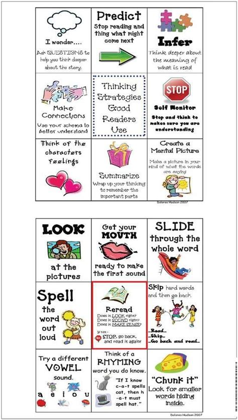 Teaching Reading Strategies To 1st Graders  1000 Ideas About Reading Strategies Posters On