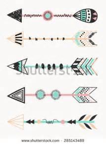 Vector Tribal Arrow Clip Art