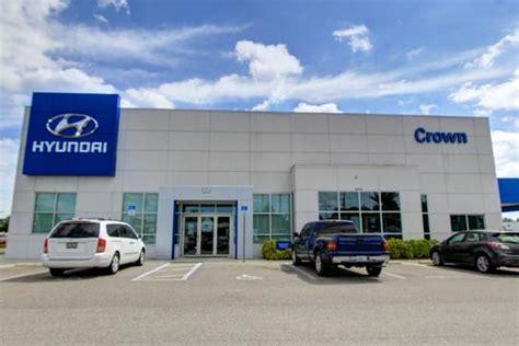 Crown Hyundai St Petersburg Fl by Crown Hyundai Car Dealership In St Petersburg Fl 33714