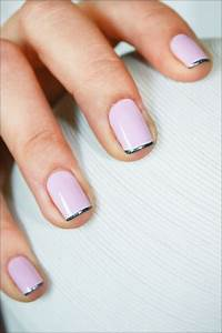 light pink and silver manicure | Nails | Pinterest | Pale ...