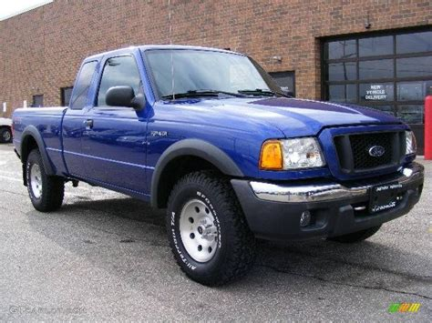 ranger ford 2005 2005 sonic blue metallic ford ranger fx4 level ii supercab
