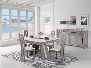 salle a manger moderne avec table ronde With salle À manger contemporaine avec table 12 personnes salle manger