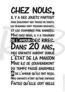 Regle De La Maison A Imprimer : format a3 r gle de vie chez nous affiche d coration ~ Dode.kayakingforconservation.com Idées de Décoration