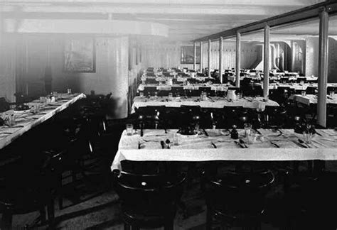 Third Class Dining Room On The Titanic dining rooms on titanic homes decoration tips