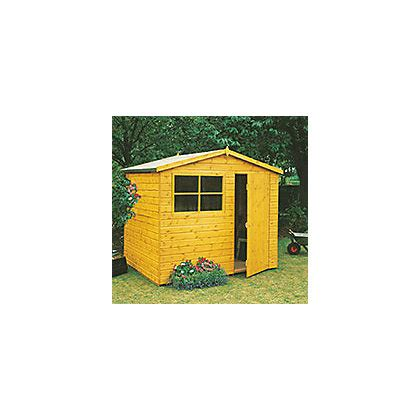 homewood wroxham shed 10 x 6ft at homebase be inspired