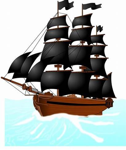 Pirate Ship Cartoon Clipart Clip