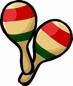 Instrument clipart spanish maraca - Pencil and in color ...