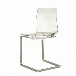 But Chaise Transparente : chaise transparente design gel chaises design par domitalia ~ Teatrodelosmanantiales.com Idées de Décoration