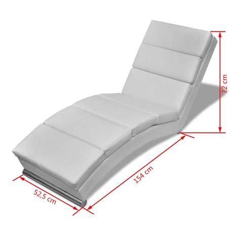 la chaise longue boutique en ligne la boutique en ligne chaise longue blanche vidaxl fr