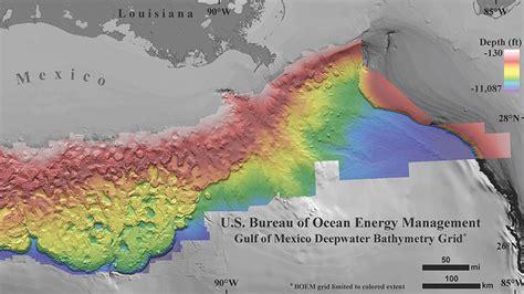 boem northern gulf  mexico deepwater bathymetry grid