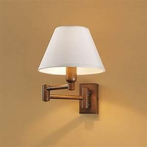 Wandleuchte Mit Steckerzuleitung : schwenkbare gelenkarm wandlampe ~ Markanthonyermac.com Haus und Dekorationen