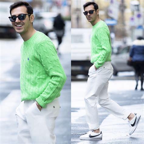 Roberto De Rosa (instagram  robertoderosa) - Ralph Lauren Sweater Etnia Sunnies Versace Pants ...