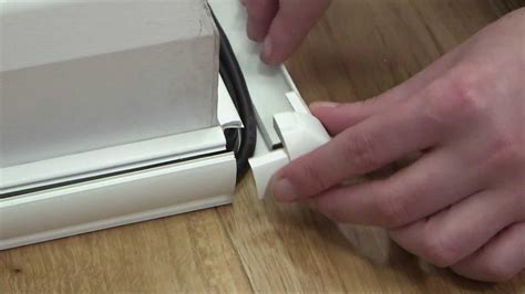 cable cover  flooring intro smooth fit