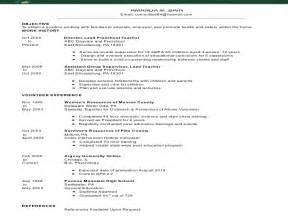 resume candidate for bachelor my b a psychology eportfolio