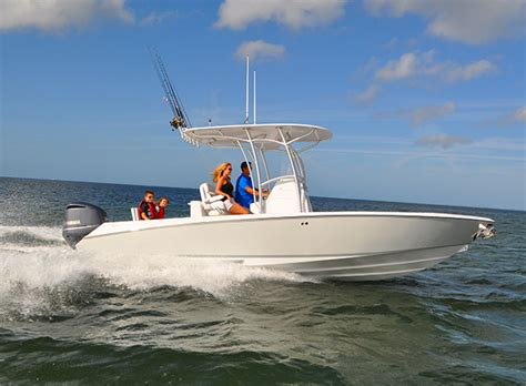 Inshore Offshore Hybrid Boats by Seavee 27 Page 2 The Hull Boating And Fishing