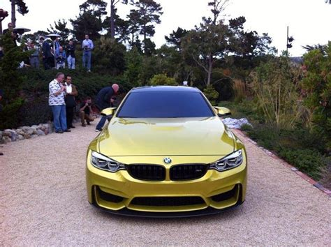 Monterey 2018 Bmw M4 Coupe Concept Live Gtspirit