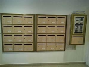 Boites Aux Lettres Collectives : boite aux lettres bois ~ Edinachiropracticcenter.com Idées de Décoration