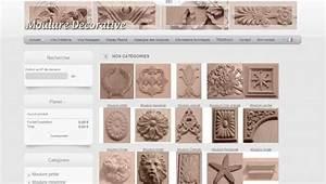 Moulure Bois Décorative : moulure d corative ~ Nature-et-papiers.com Idées de Décoration