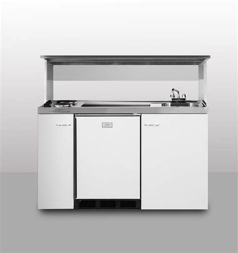 sink and stove combo combination kitchen w refrigerator sink stove ss top