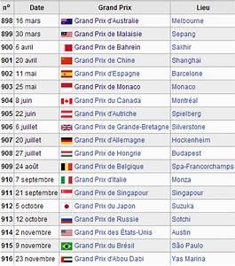 Calendrier Formule E : f1 2014 calendrier classement pilotes constructeurs saison formule 1 ~ Medecine-chirurgie-esthetiques.com Avis de Voitures