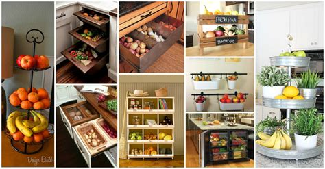 kitchen fruit storage 25 insanely clever storage solutions for fruits and vegetables 1745