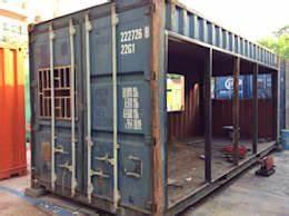 Container Mit Glasfront : wir zeigen dir was man mit 5000 aus einem alten seecontainer machen kann ~ Indierocktalk.com Haus und Dekorationen